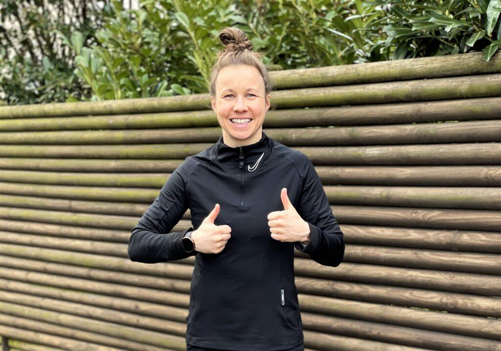 Agata Tarczyńska oprócz treningów w klubie regularnie pracuje również indywidualnie
